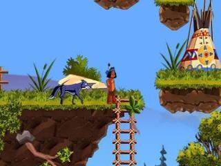 Dit spel heeft mooie kleurrijke graphics.