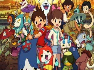 Yo-Kai Watch 2: Droomfantomen: Afbeelding met speelbare characters