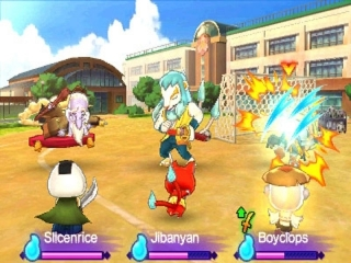 Yo-Kai Watch 2 Skeletspoken: Screenshot