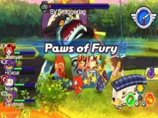 Yo-Kai Watch Blasters Red Cat Corps: Screenshot