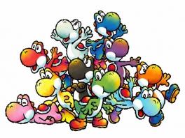 Geen Mario, maar Yoshi's in de hoofdrol!
