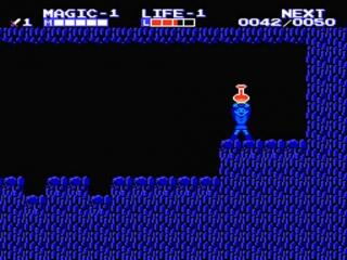 Link is altijd blij als hij een flesje tomatensap vindt.