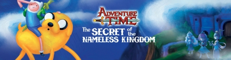 Banner Adventure Time The Secret of the Nameless Kingdom