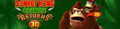 Banner Donkey Kong Country Returns 3D