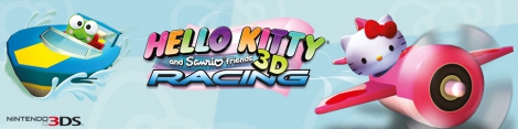 Banner Hello Kitty and Sanrio Friends 3D Racing