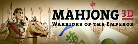 Banner Mahjong 3D Warriors of the Emperor