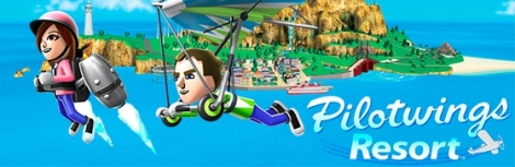 Banner Pilotwings Resort
