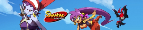 Banner Shantae and the Pirates Curse