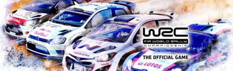 Banner WRC FIA World Rally Championship