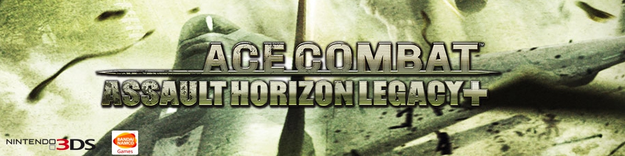 Banner Ace Combat Assault Horizon Legacy Plus