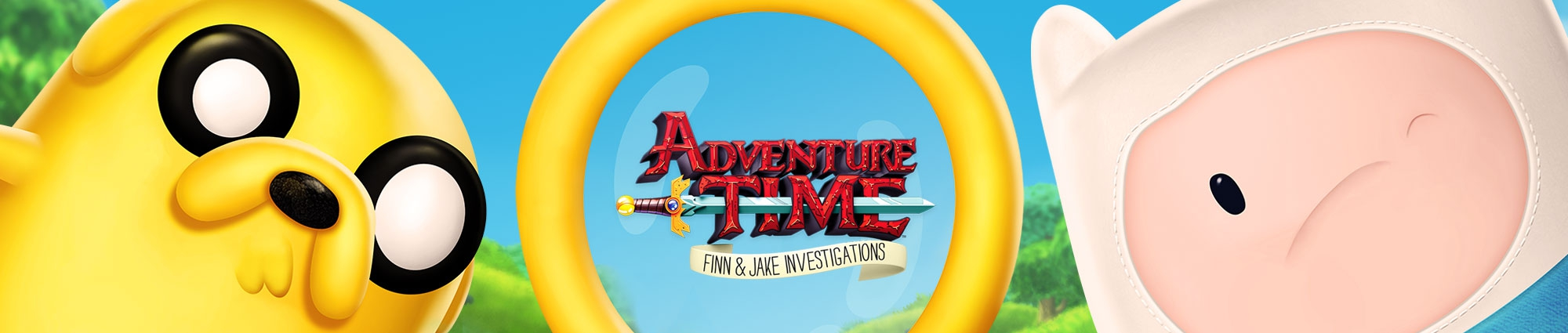 Banner Adventure Time Finn and Jake Investigations