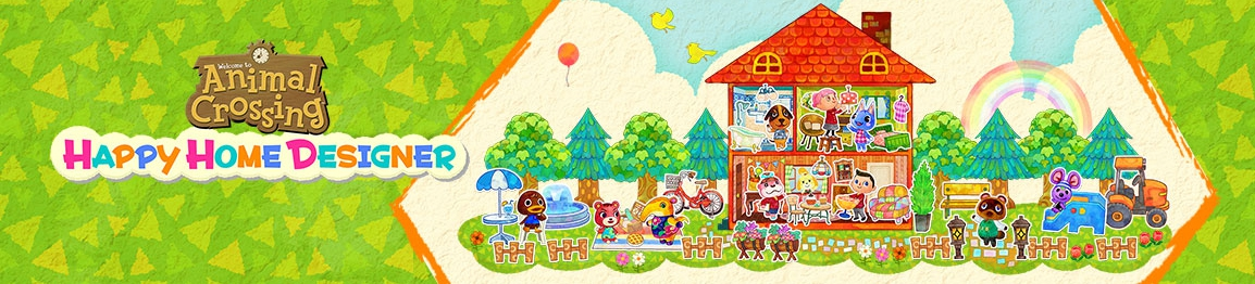 Banner Animal Crossing Happy Home Designer