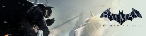 Banner Batman Arkham Origins Blackgate