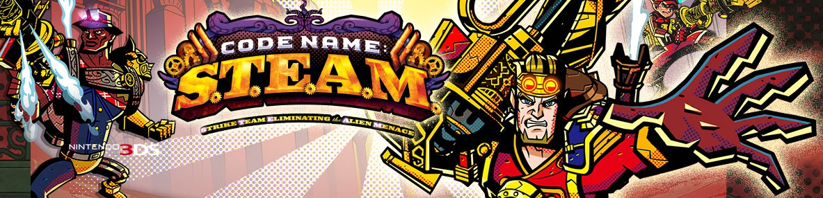 Banner Code Name STEAM