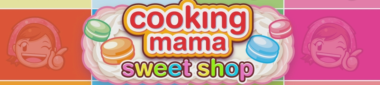 Banner Cooking Mama Sweet Shop