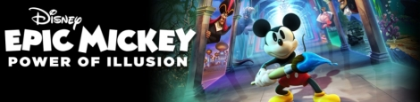 Banner Disney Epic Mickey Power Of Illusion