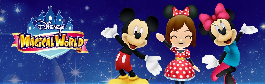Banner Disney Magical World