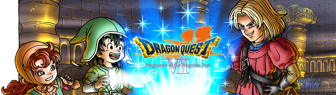 Banner Dragon Quest VII Fragments of the Forgotten Past