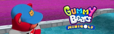 Banner Gummy Bears Mini Golf