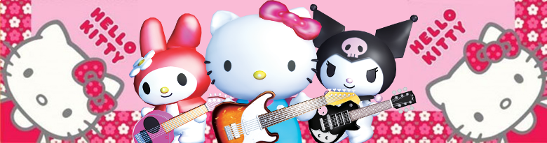 Banner Hello Kitty and Friends Rock N World Tour