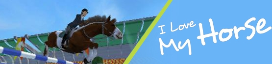 Banner I Love My Horse