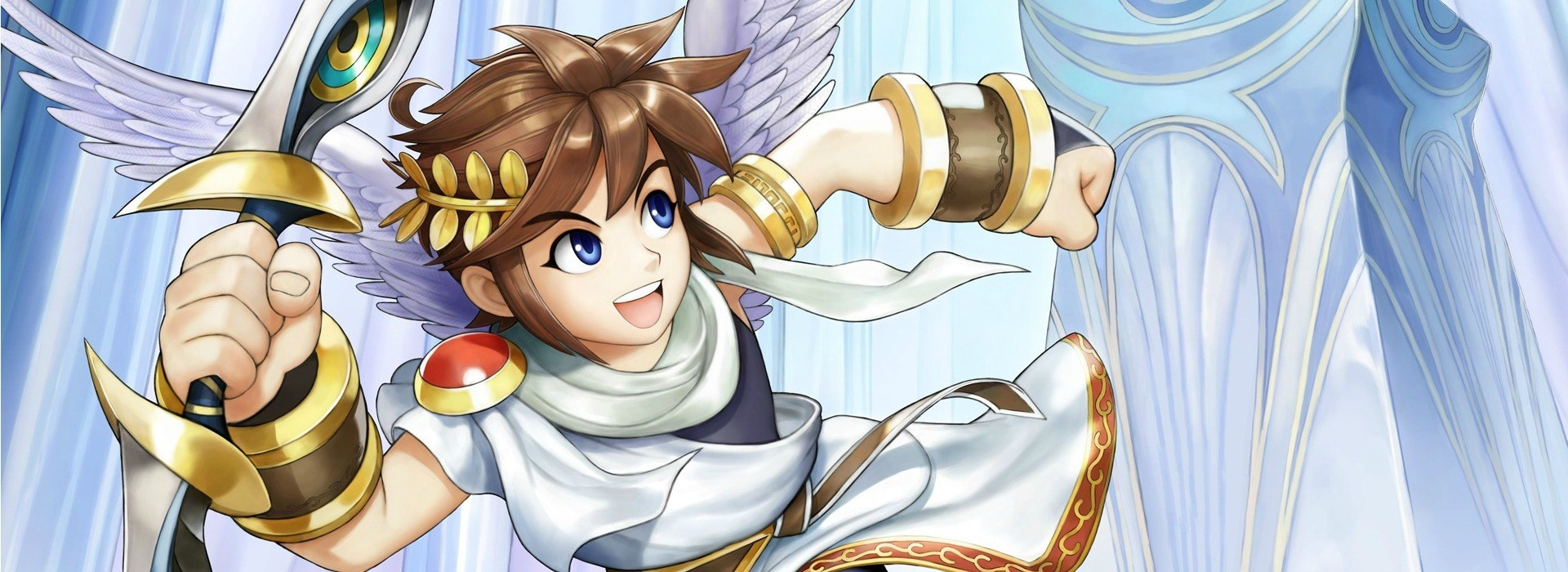 Banner Kid Icarus Uprising AR Cards
