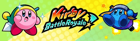 Banner Kirby Battle Royale