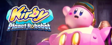 Banner Kirby Planet Robobot