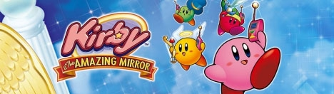 Banner Kirby and The Amazing Mirror