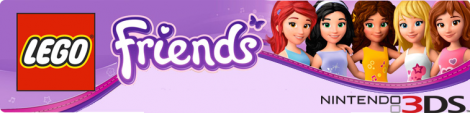 Banner LEGO Friends