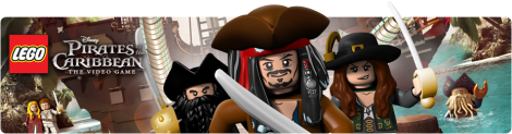 Banner LEGO Pirates of the Caribbean The Video Game