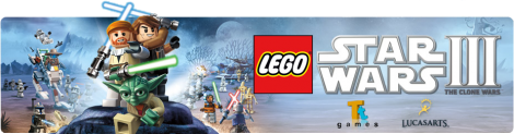 Banner LEGO Star Wars III The Clone Wars
