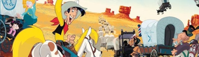 Banner Lucky Luke and The Daltons
