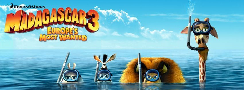 Banner Madagascar 3 Europes Most Wanted