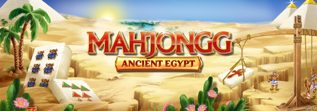 Banner Mahjongg Ancient Egypt