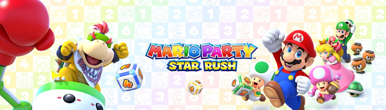 Banner Mario Party Star Rush