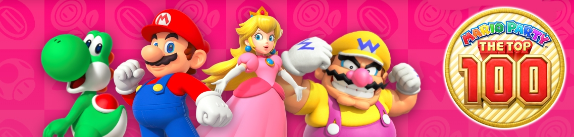 Banner Mario Party The Top 100