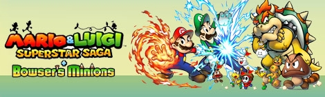 Banner Mario and Luigi Superstar Saga Plus Bowsers Onderdanen