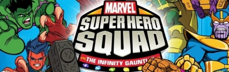 Banner Marvel Super Hero Squad The Infinity Gauntlet