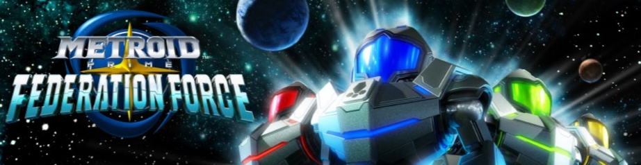 Banner Metroid Prime Federation Force