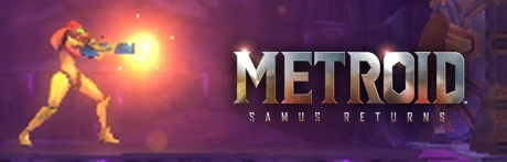 Banner Metroid Samus Returns