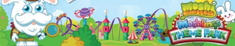 Banner Moshi Monsters Moshlings Theme Park