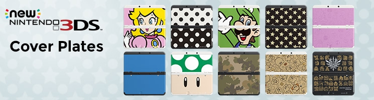 Banner New Nintendo 3DS Verwisselbare Covers