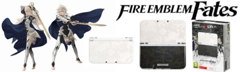 Banner New Nintendo 3DS XL Fire Emblem Fates Limited Edition