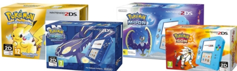 Banner Nintendo 2DS Pokemon Edition