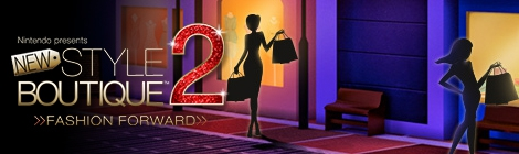 Banner Nintendo presents New Style Boutique 2 - Fashion Forward