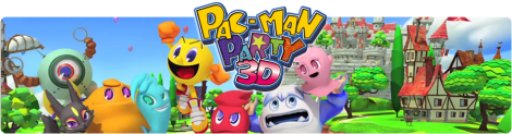 Banner Pac-Man Party 3D