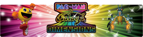 Banner Pac-Man and Galaga Dimensions