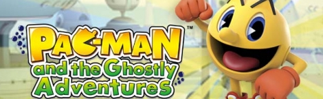 Banner Pac-Man and the Ghostly Adventures