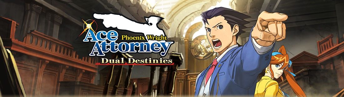 Banner Phoenix Wright Ace Attorney - Dual Destinies